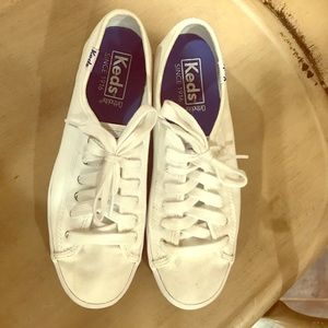 Keds women's sz 6 Orthite all white sneakers